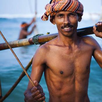 pêcheur Sri Lanka
