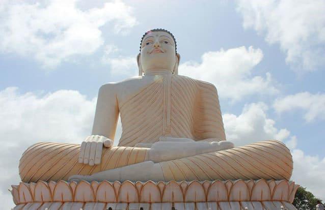 Bouddha Geant Sri Lanka