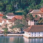 Kandy Temple of the Tooth in Sri Lanka