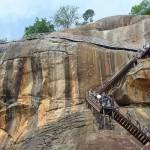 Rocher du Lion de Sigiriya au Sri Lanka