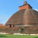 Anuradhapura Temple in Sri Lanka