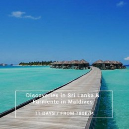 Discover sri lanka in fmalily: with ot of activities & beaches