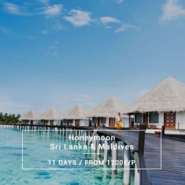Honeymoon in sri lnnaka and maldives ... The perfect match
