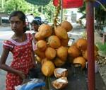 Marché de Ratnapura au Sri Lanka