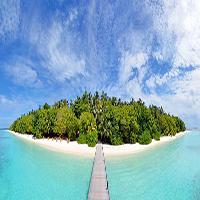 Royal Island ponton miniature, Maldives