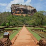 The Lion Rock Sigiriya in Sri Lanka