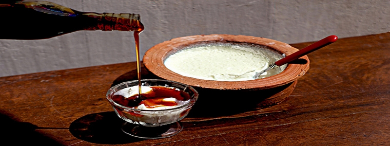 Curd and honey du Sri Lanka