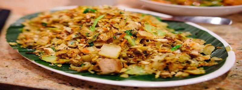 Kottu roti du Sri Lanka