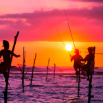 Pêcheurs dui Sri Lanka