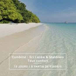 Voyage Combiné : Sri Lanka & Maldives
