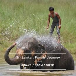 Family Journey : Sri Lanka