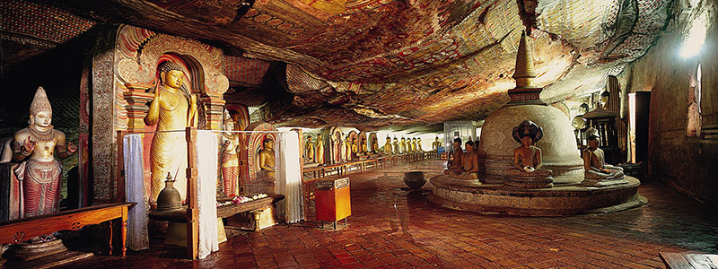 Voyage Sri Lanka : Temple d'Or Dambulla